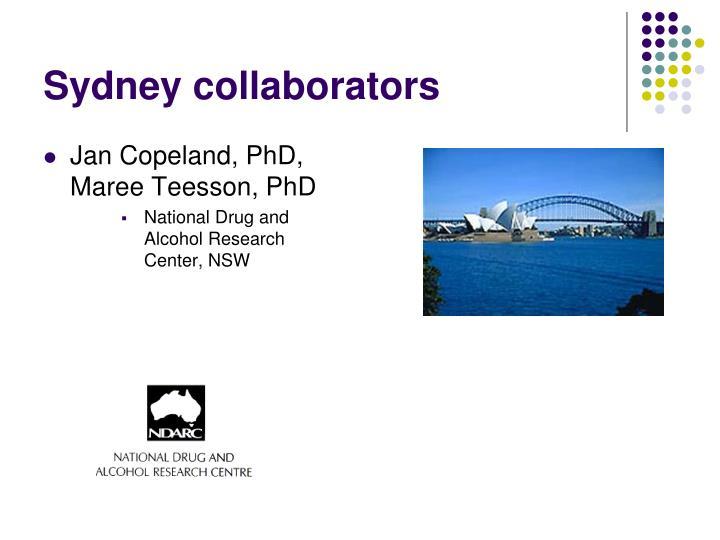 Sydney collaborators