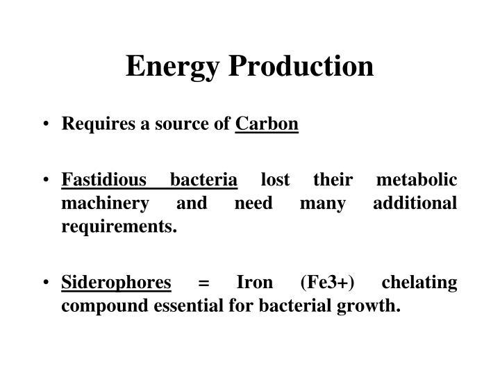 Energy Production