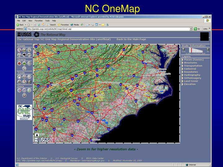 NC OneMap