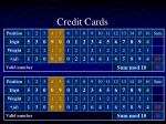 credit cards5