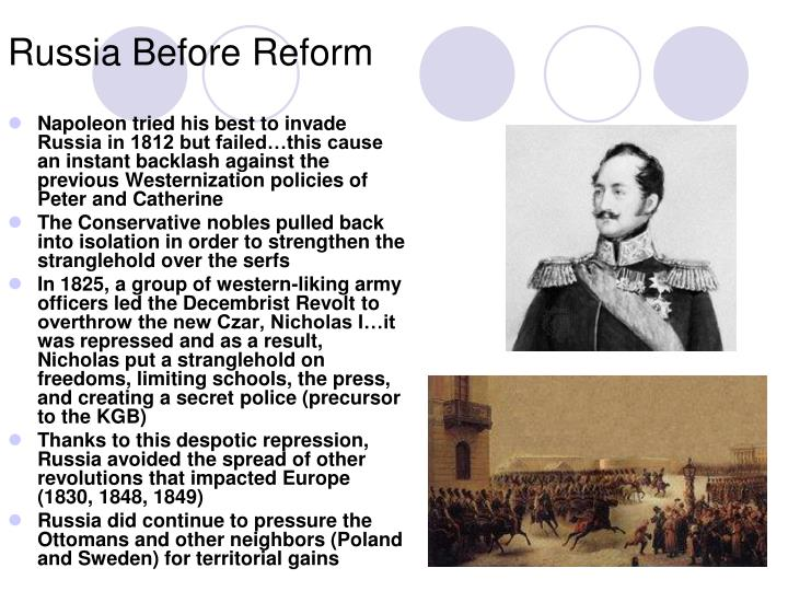 Russia Before Reform