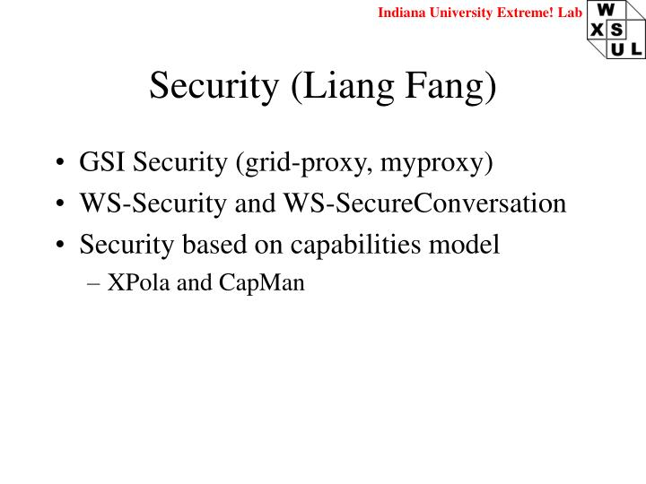 Security (Liang Fang)