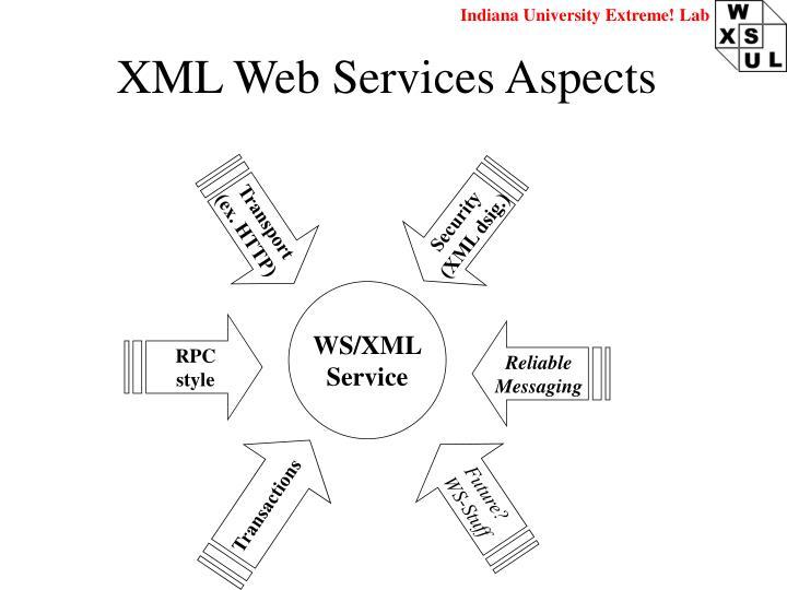 XML Web Services Aspects