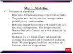 step 3 mediation