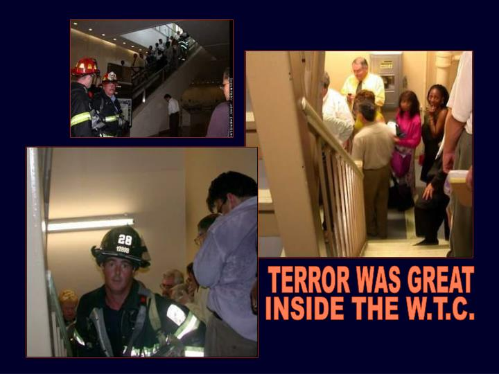 TERROR WAS GREAT