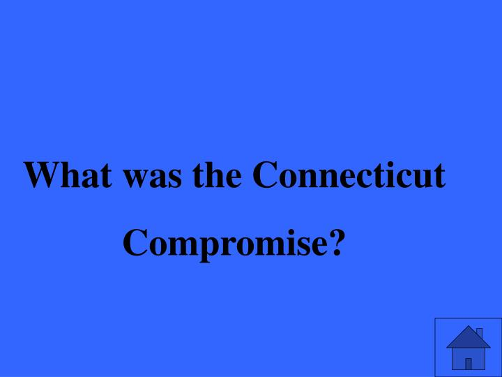 What was the Connecticut