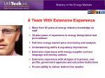 mastery of the energy markets
