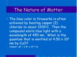 the nature of matter5