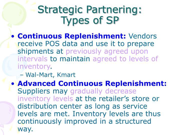 Strategic Partnering: