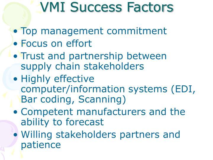 VMI Success Factors