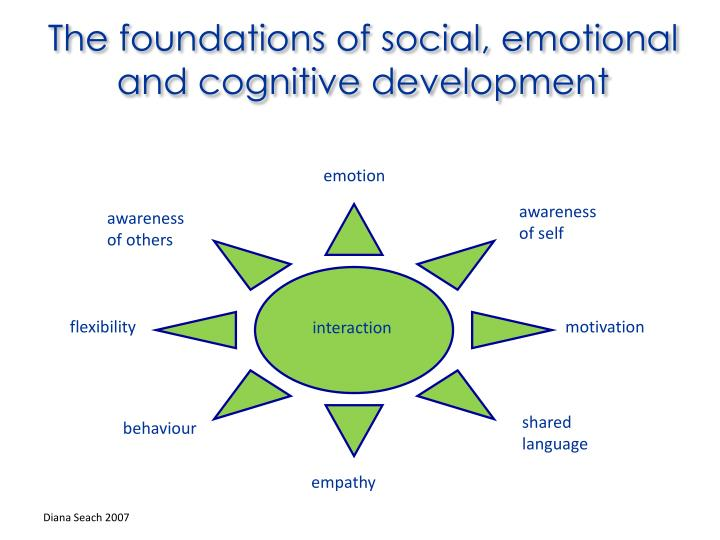 The foundations of social, emotional and cognitive development