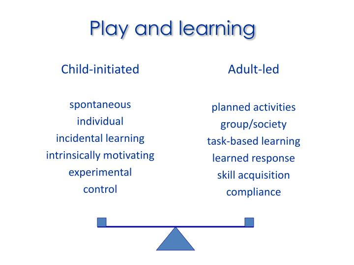 Play and learning