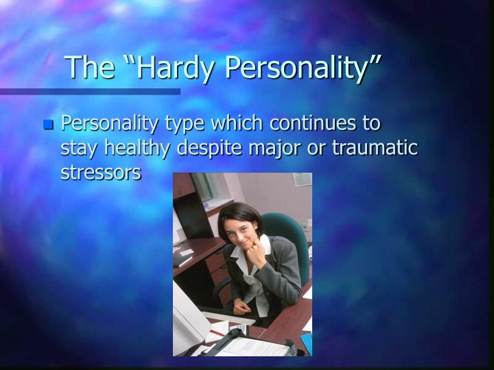 "The ""Hardy Personality"""