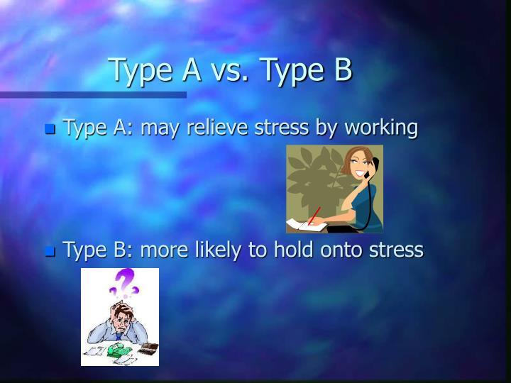 Type A vs. Type B