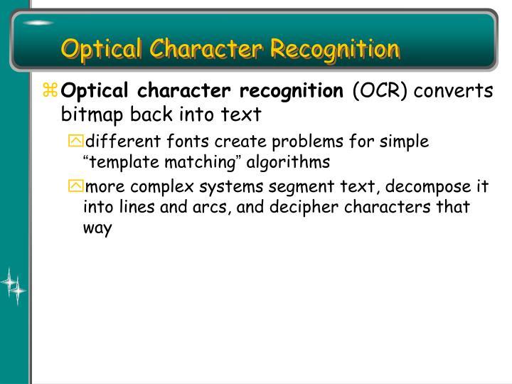 Optical Character