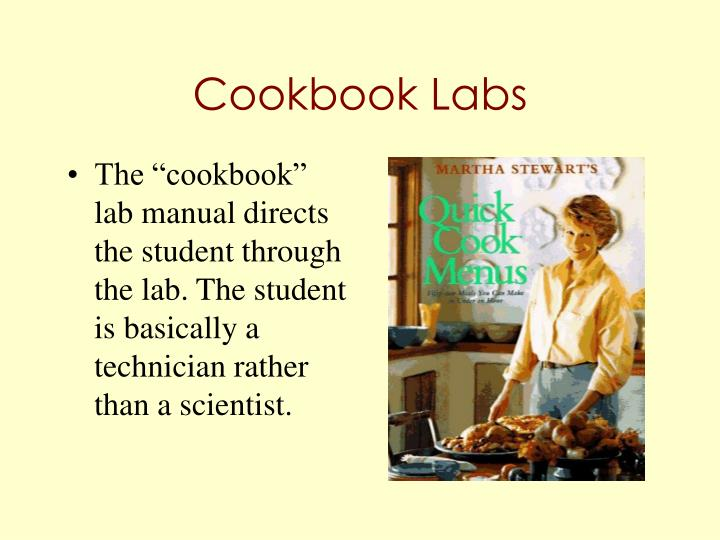 Cookbook labs