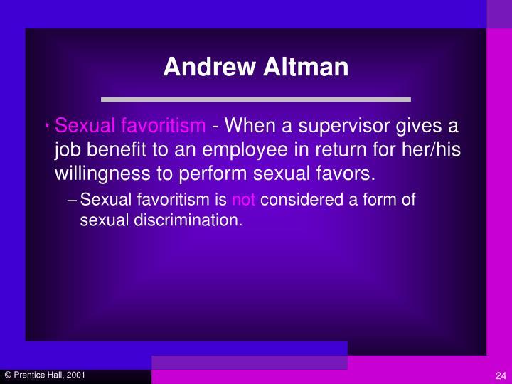 Andrew Altman