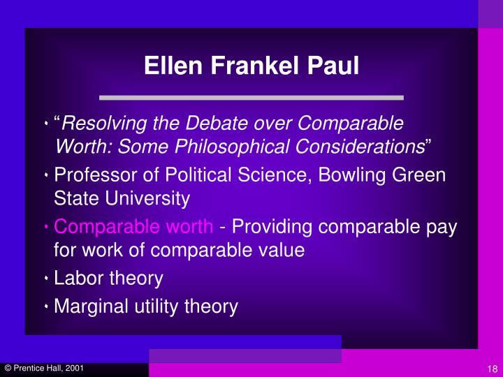 Ellen Frankel Paul