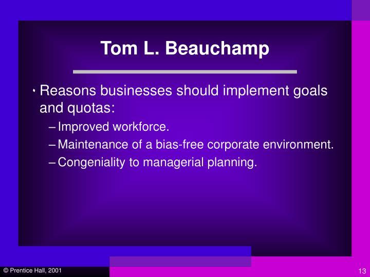 Tom L. Beauchamp