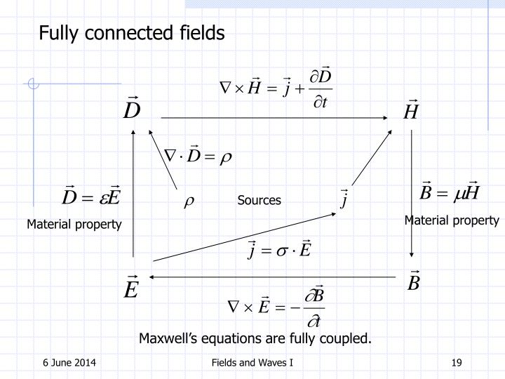 Fully connected fields