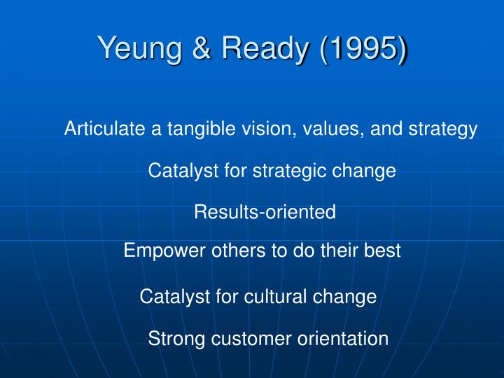 Yeung & Ready (1995)