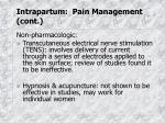 intrapartum pain management cont1