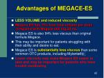 advantages of megace es