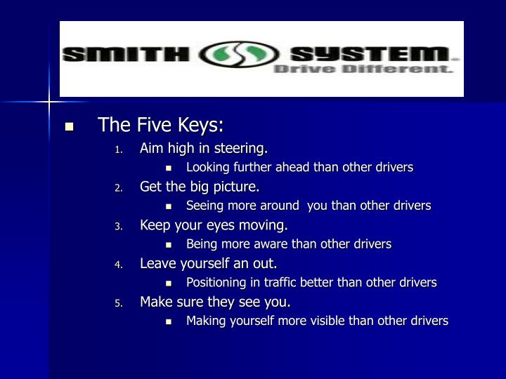 The Five Keys: