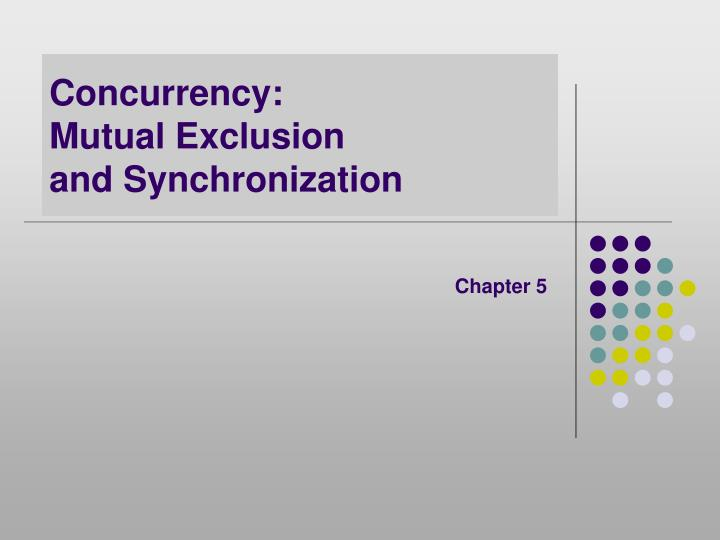 Concurrency: