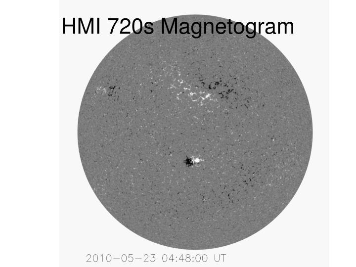 HMI 720s Magnetogram