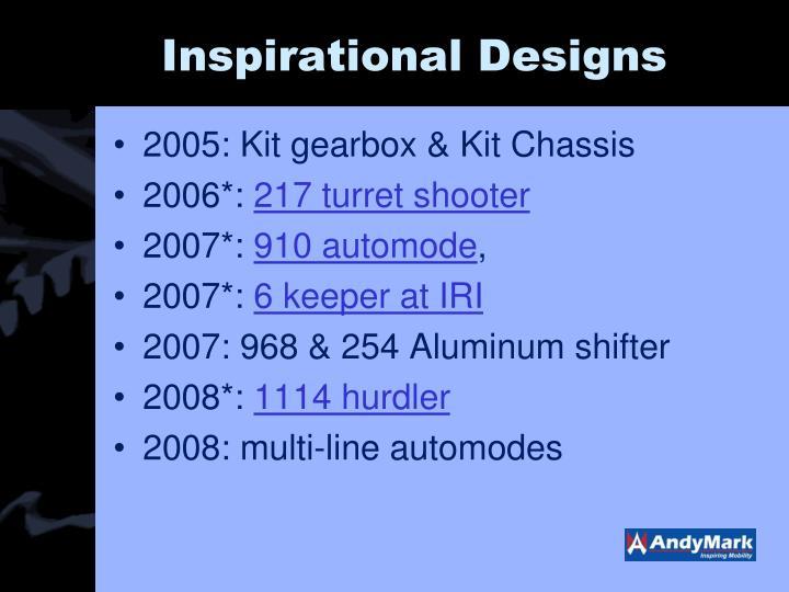 Inspirational Designs