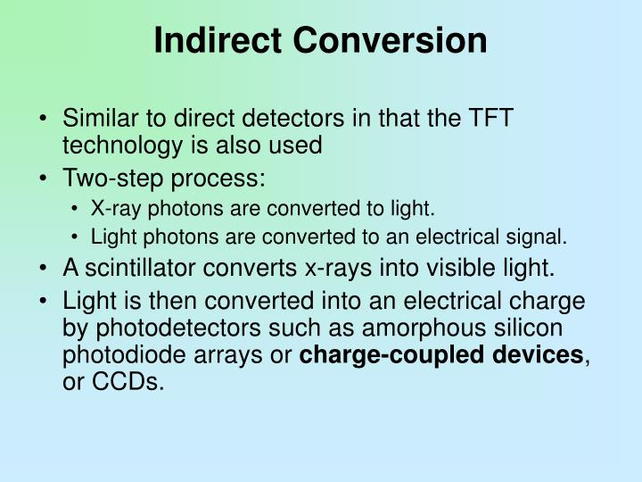 Indirect Conversion