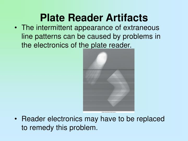 Plate Reader Artifacts