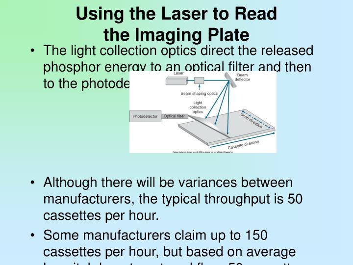 Using the Laser to Read