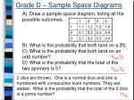 grade d sample space diagrams1