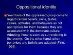 oppositional identity1