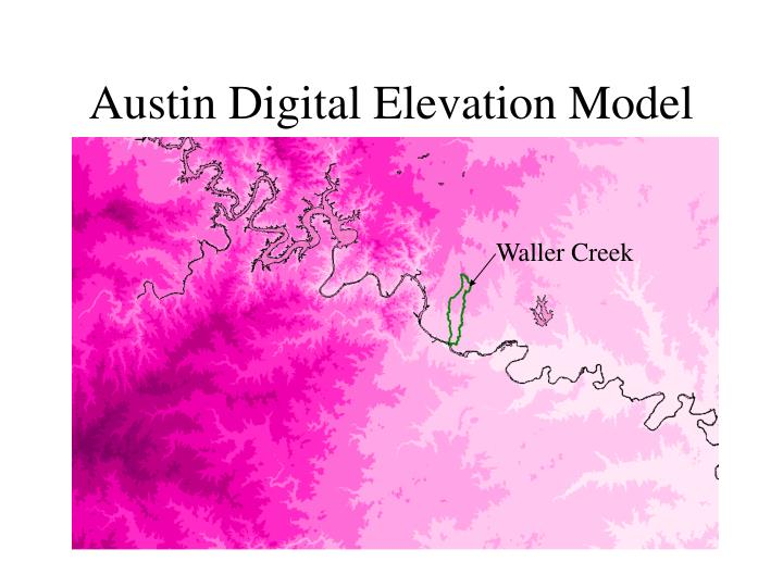 Austin Digital Elevation Model