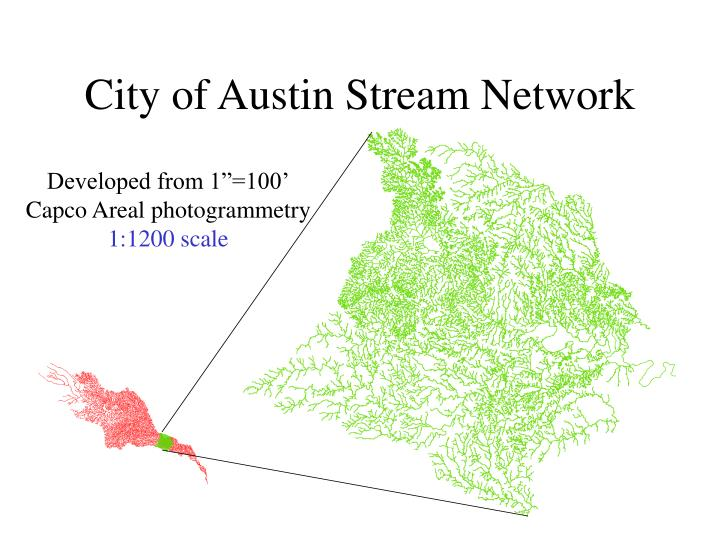 City of Austin Stream Network
