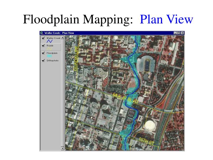 Floodplain Mapping: