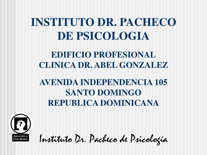 INSTITUTO DR. PACHECO