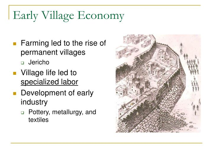 Early Village Economy
