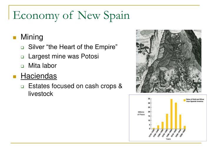 Economy of New Spain