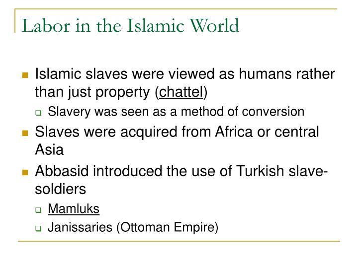 Labor in the Islamic World