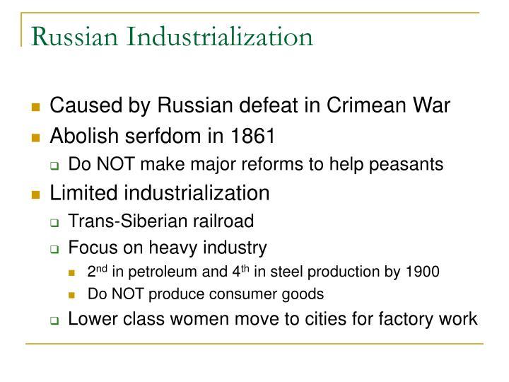 Russian Industrialization