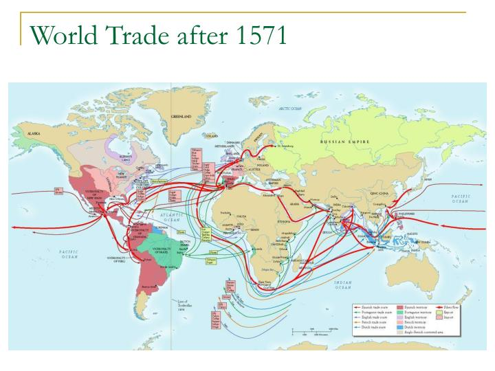 World Trade after 1571
