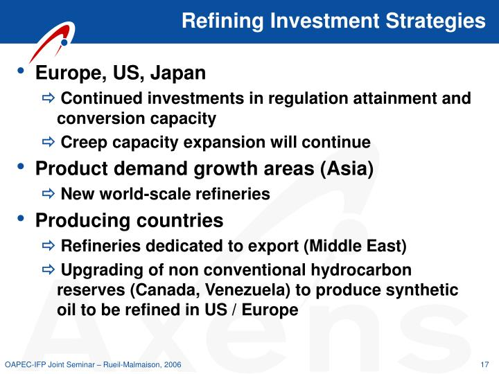 Refining Investment Strategies