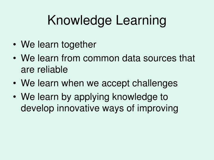 Knowledge Learning
