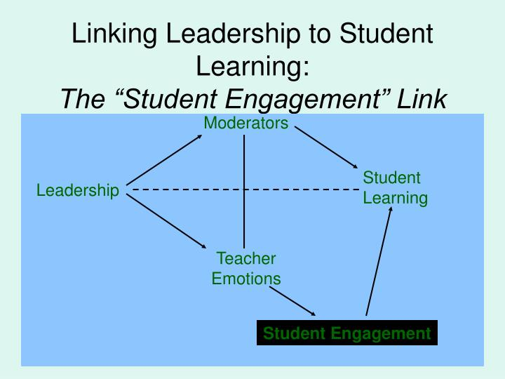 Linking Leadership to Student Learning: