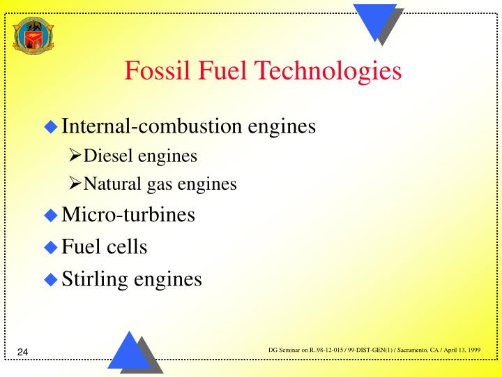 Fossil Fuel Technologies