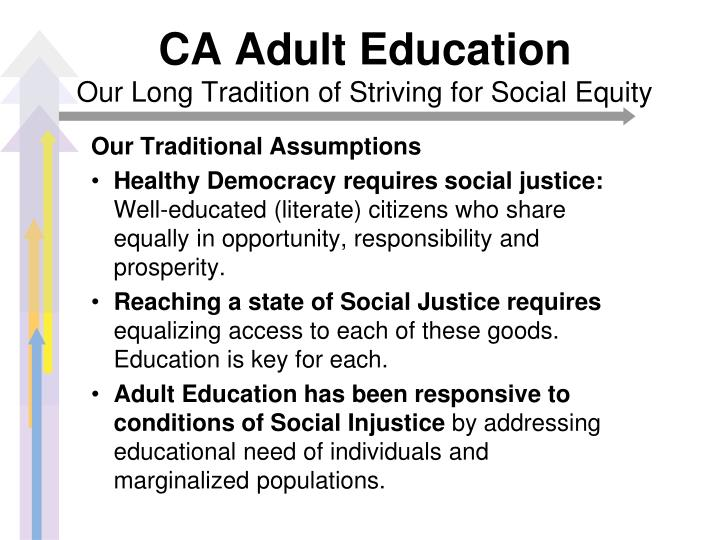 CA Adult Education